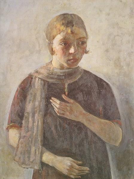 Oscar di Prata - Ritratto della sorella