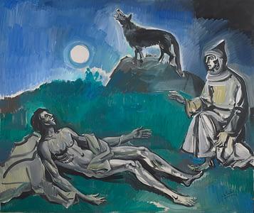 Oscar di Prata - S.Francesco la luna e il lupo