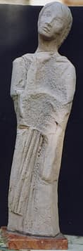 Olves di Prata - Figura di donna