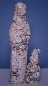 Olves di Prata - Figura femminile con bambino