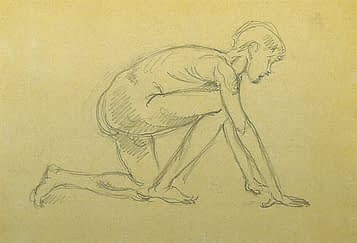 Antonio Di Prata - Studio della figura umana