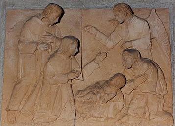 Olves di Prata - Gesù bambino a Betlemme