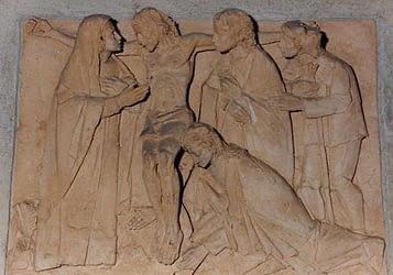 Olves di Prata - Gesù in croce