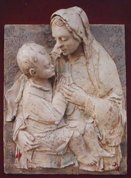 Olves di Prata - Madre con il bambino